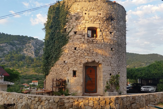 Hvar Tower in Hvar, Split-Dalmatia County, Croatia. © airbnb / Ivana & Lorenzo