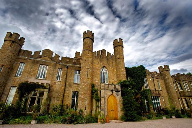 Kirkby Stephen Castle in Cumbria, United Kingdom. © airbnb / Simon & Wendy