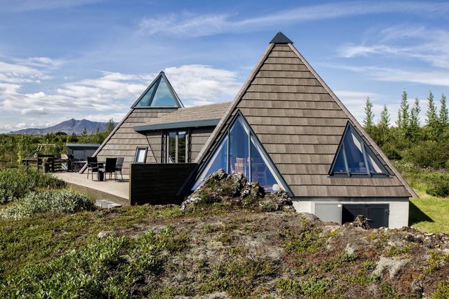 Teepee Cottage close to Geysir in Laugarvatn, Iceland. © airbnb / Palmi