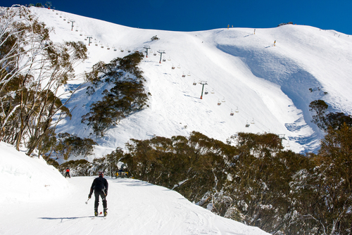 Mount Hotham ski Resort Alpine Ranges Victoria